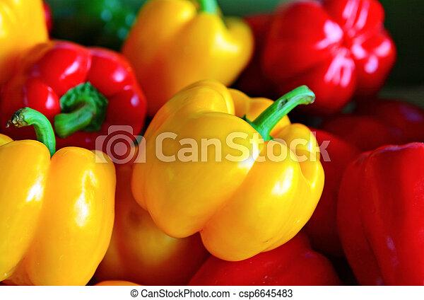 organic sweet pepper