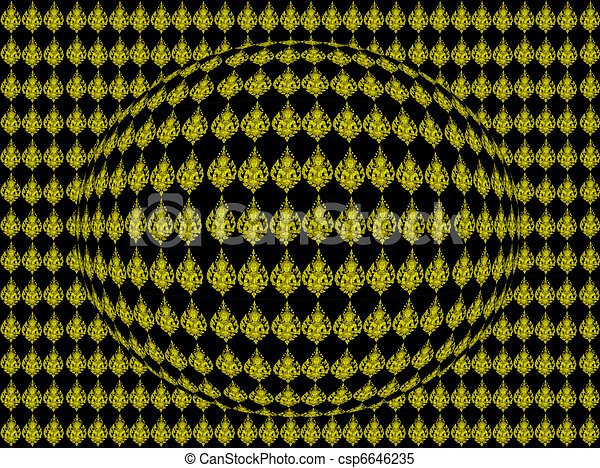 art abtract pattern - csp6646235
