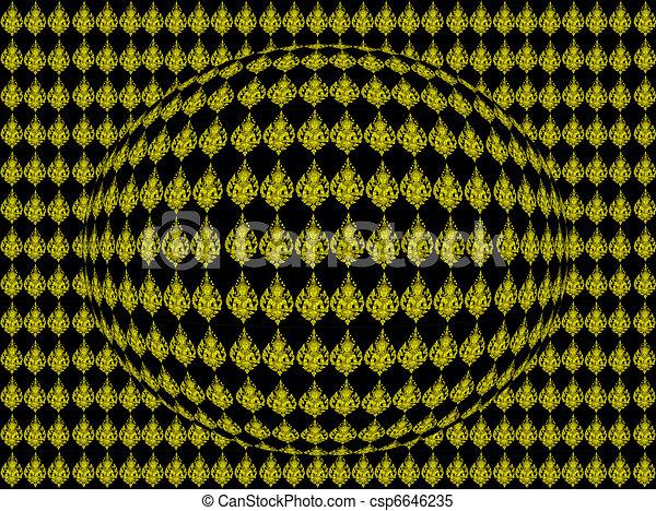 art abtract pattern - csp6646235