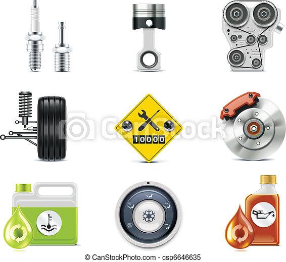 Car service icons. P.3 - csp6646635