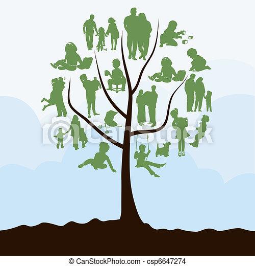 Family tree - csp6647274