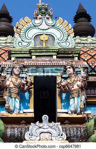 Vishnu Temple of Cochin - csp6647981