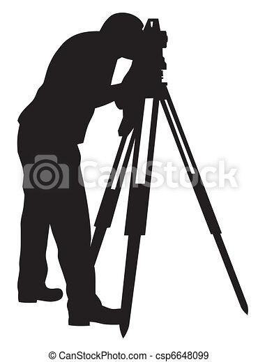 Land surveyor - csp6648099
