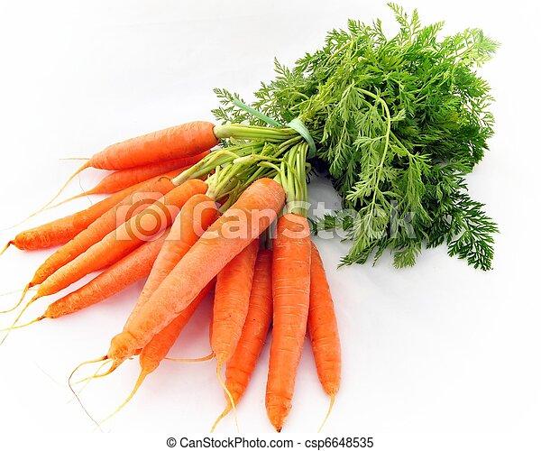 Bunch of carrots - csp6648535