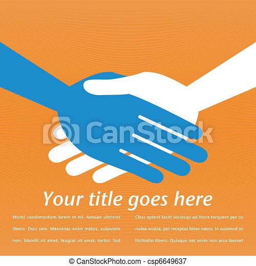 Handshake symmetry. - csp6649637