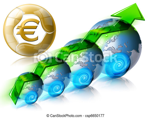 Business & Financial world positive - csp6650177