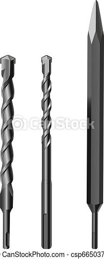 drill bits - csp6650376