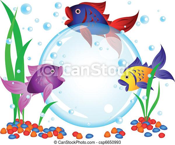 Fish advertisement - csp6650993