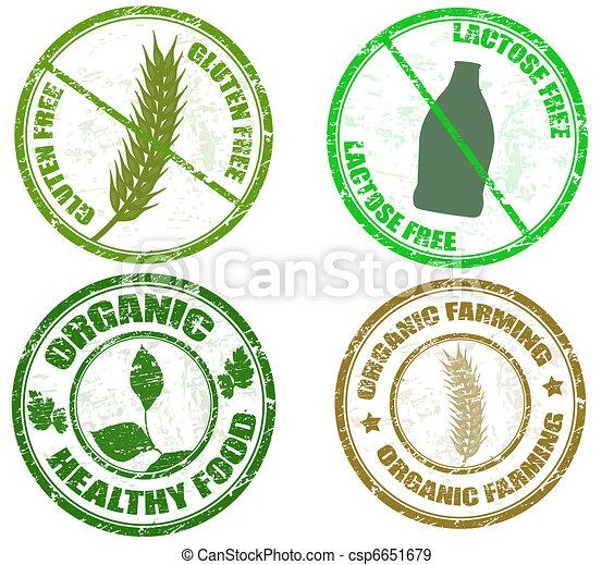 diet stamps - csp6651679