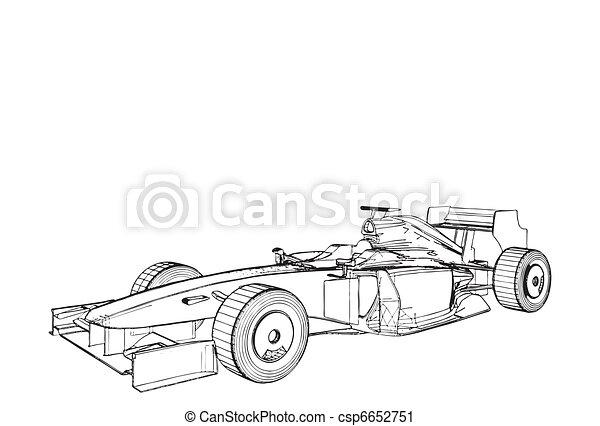 Race Car  - csp6652751