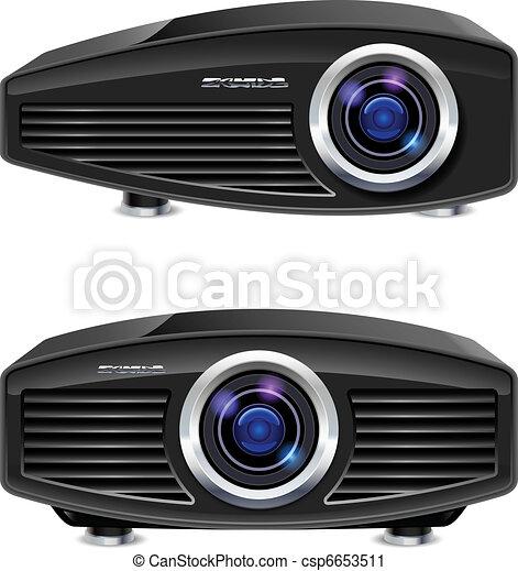 Realistic multimedia projector - csp6653511