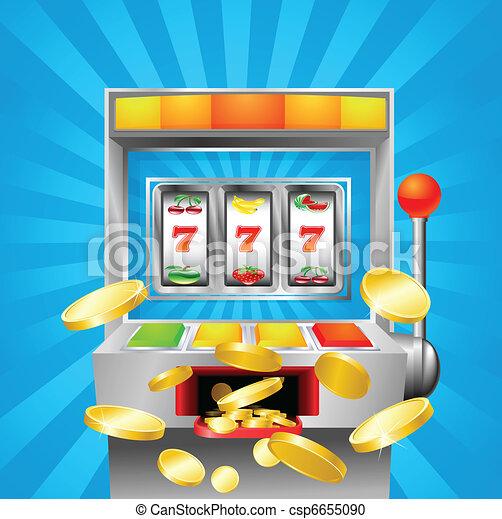 Slot fruit machine winning - csp6655090