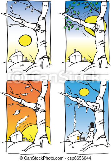 ... seasons.... csp6656044 - Search Clip Art, Illustration, Drawings and