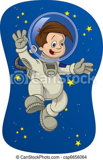 Space Kid #1 - csp6656064
