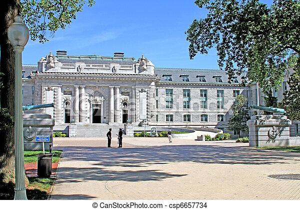 US Naval Academy campus - csp6657734
