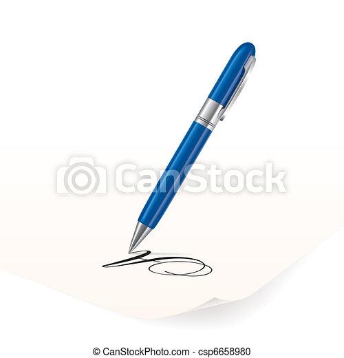 Pen - csp6658980