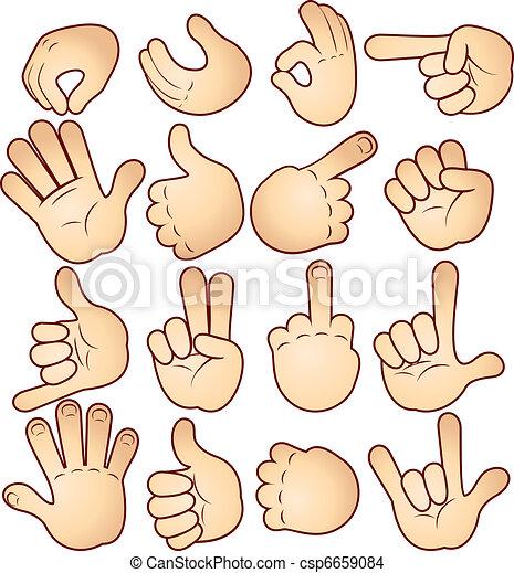 Hands and Gestures - csp6659084