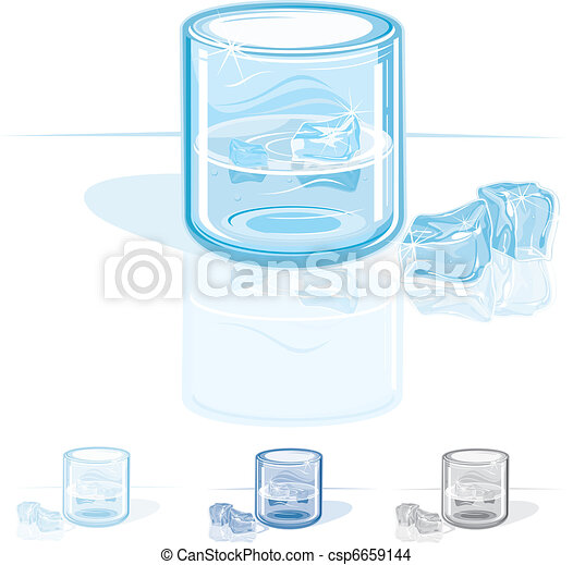 EPS Vector of Cold Fresh Water csp6659144 - Search Clip ...
