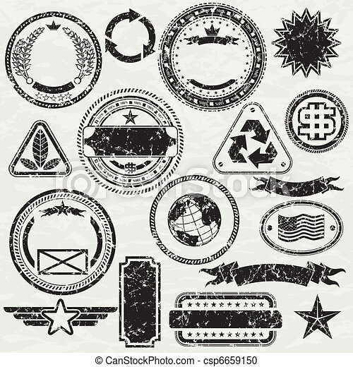 Vector clipart of grunge stams grunge rubber stamp for Company stamp template