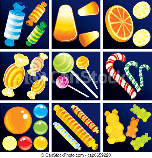 Sweet Goodies - csp6659220