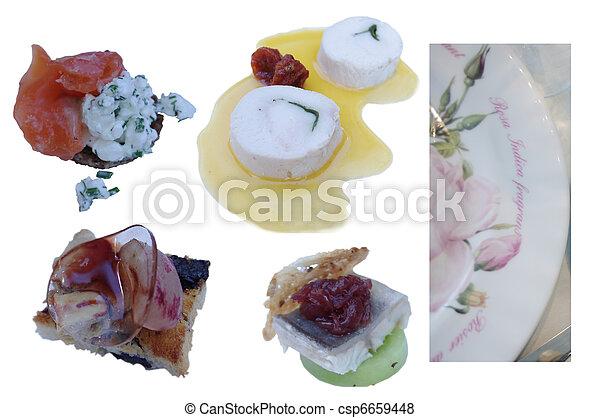 Pictures of elements of haute cuisine salat antipasti for Elements hauts cuisine
