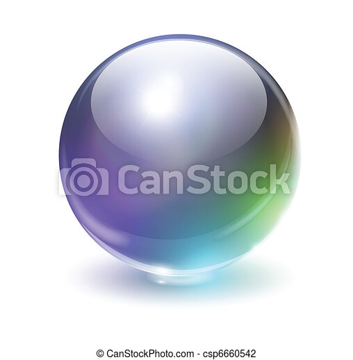 Glass sphere - csp6660542