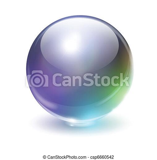 Glass sphere - csp6660542