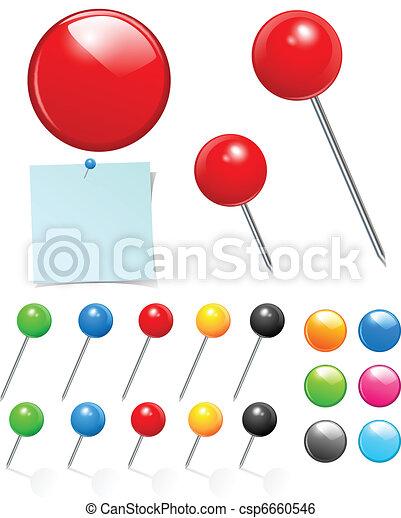 push pin collection - csp6660546