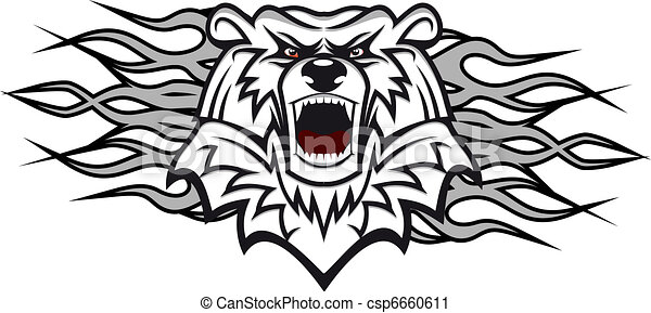 Arctic bear - csp6660611