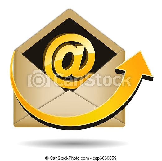 Send Email Icon - csp6660659