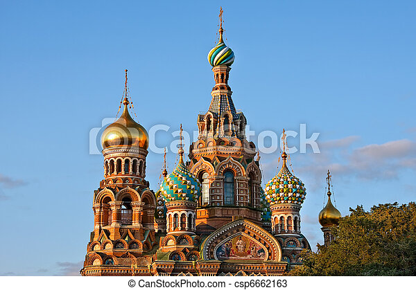 The Church of the Savior on Spilled Blood - csp6662163