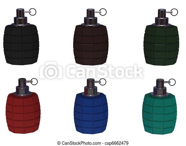 Hand grenade - csp6662479