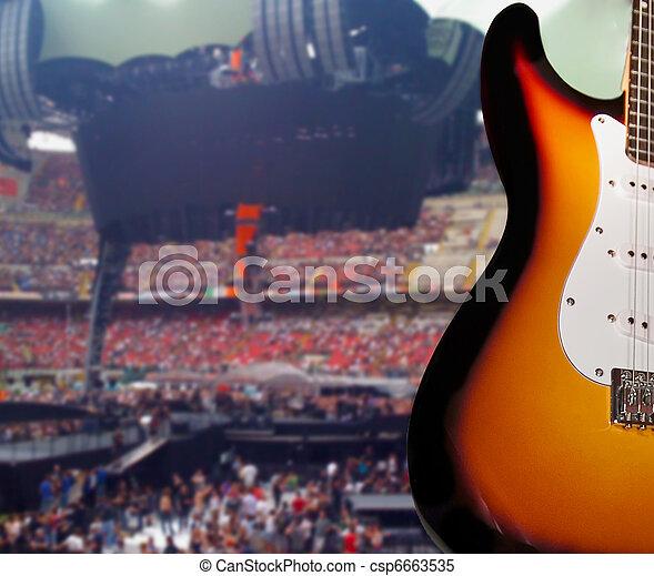 Rock concert - csp6663535