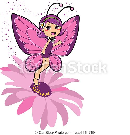 Butterfly Fairy - csp6664769