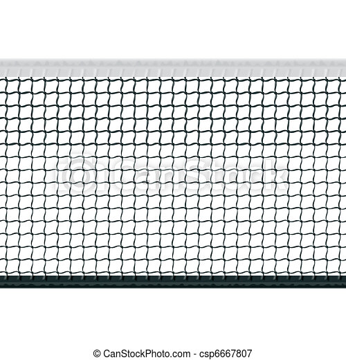 Seamless tennis net - csp6667807