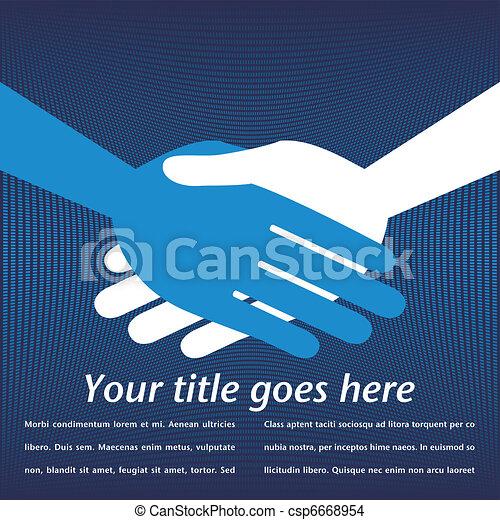 Handshake symmetry. - csp6668954