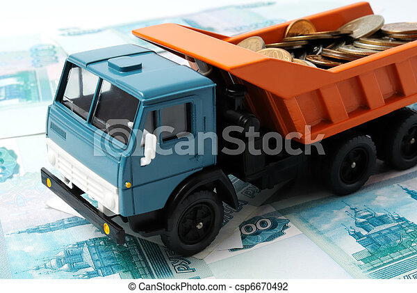 Transportation Money - csp6670492