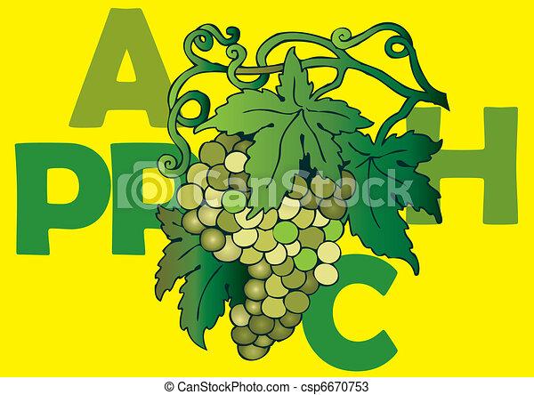 Grapes. - csp6670753