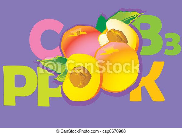 Peaches. - csp6670908