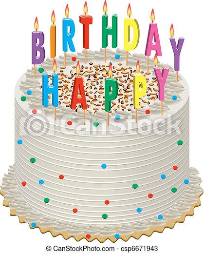 Bear With A Birthday Cake Gif