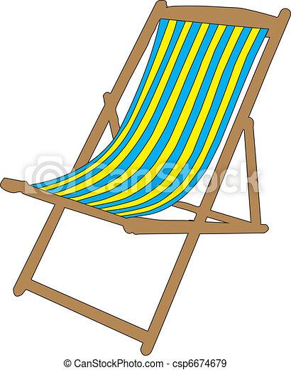 vecteurs eps de transat 01 transat pour plage csp6674679 recherchez des images graphiques. Black Bedroom Furniture Sets. Home Design Ideas