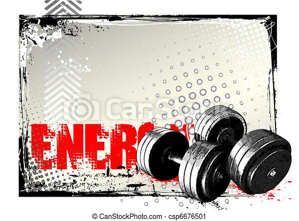 gym poster - csp6676501