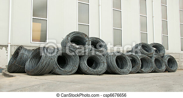 Reinforcing steel bars - csp6676656