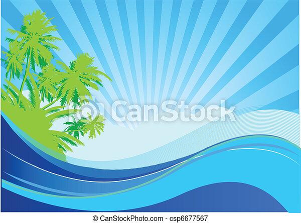 Summer vacation - csp6677567