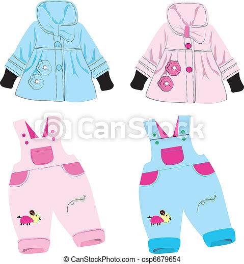 kids clothes   - csp6679654