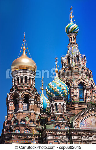 The Church of the Savior on Spilled Blood - csp6682045