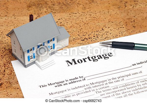Mortgage - csp6682743