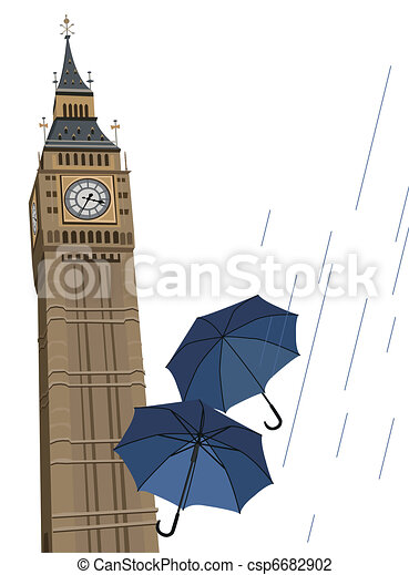 Big Ben Clock Tower - csp6682902