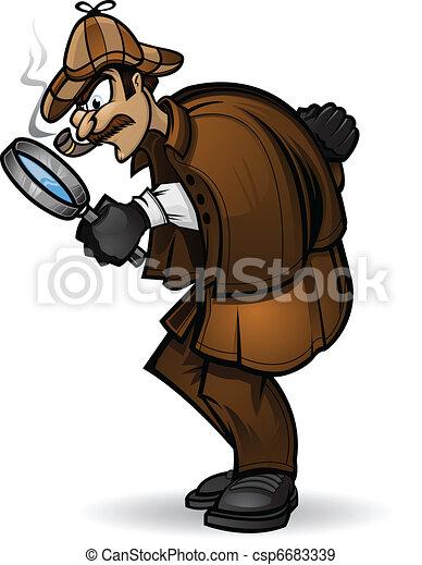 Sherlock Holmes - csp6683339
