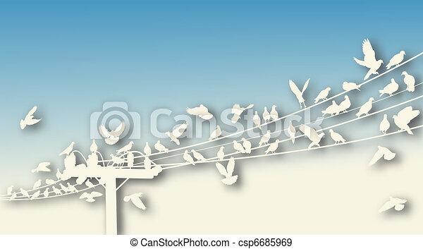 Bird roost cutout - csp6685969